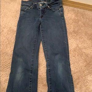 Skinny boot cut 7 jeans